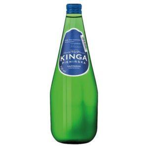 butelka szklana woda kinga pienińska gazowana 700ml 0,7l