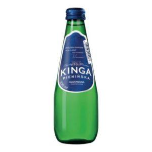 butelka szklana woda kinga pienińska gazowana 330ml 0,33l