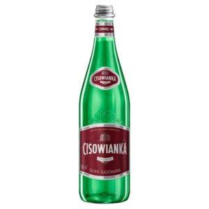 butelka szklana cisowianka 0,7 L gazowana silnie