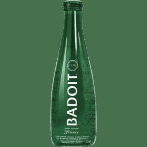 butelka wody gazowanej badoit 0,33L 330ml