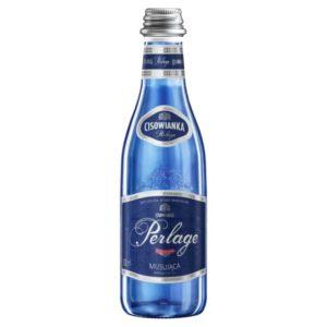 butelka szklana cisowianka 0,3 L gazowana perlage