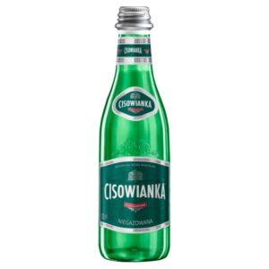 butelka szklana cisowianka 0,3 L niegazowana