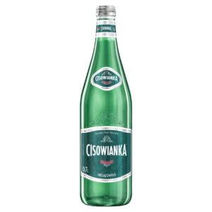 butelka szklana cisowianka 0,7 L niegazowana