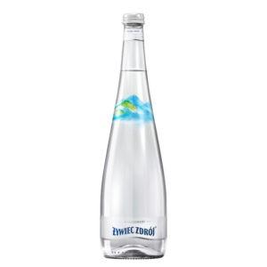 butelka wody niegazowanej żywiec zdrój szkło
