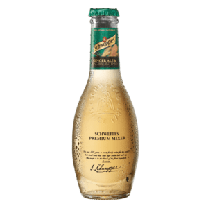 butelka Schweppes Premiu mixer ginger ale 200ml