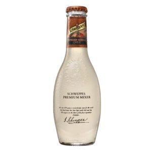 butelka Schweppes Premiu mixer ginger beer 200ml