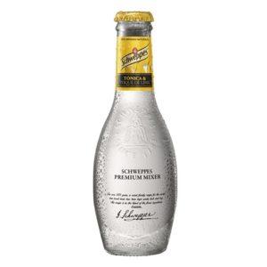 butelka Schweppes Premium original tonic Tonica lime 200ml