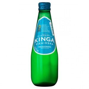 butelka szklana woda kinga pienińska niegazowana 330ml 0,33l