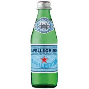 butelka wody gazowanej san pellegrino 0,25L 250ml szkło