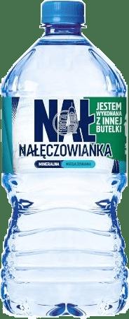 Woda Nałęczowianka RPET 1L recykling