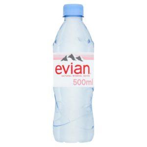 Evian PET 500ml 0,5L plastikowa butelka