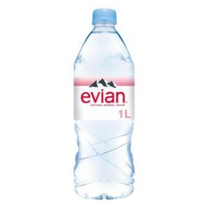 Evian PET 1000ml 1L plastikowa butelka