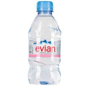 Evian PET 330ml 0,33L plastikowa butelka