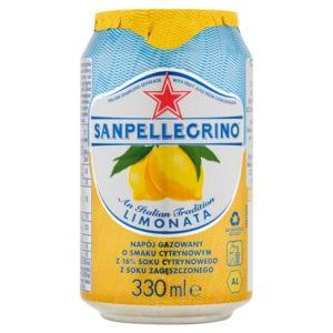sanpellegrino limonata o smaku cytrynowym
