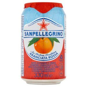 sanpellegrino aranciata rossa o smaku czerwonej pomarańczy