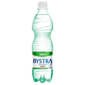 Woda Bystra gazowana 0,5l PET butelka