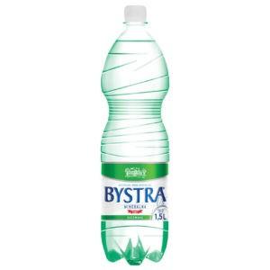 Woda Bystra gazowana 1,5l PET butelka
