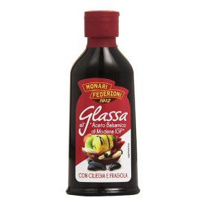 Krem z octu balsamicznego z czereśnią i truskawką Monari Federzoni 0,2l