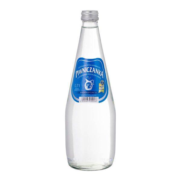 Piwniczanka 0,7 litra, wysokonasycona CO2 szkło